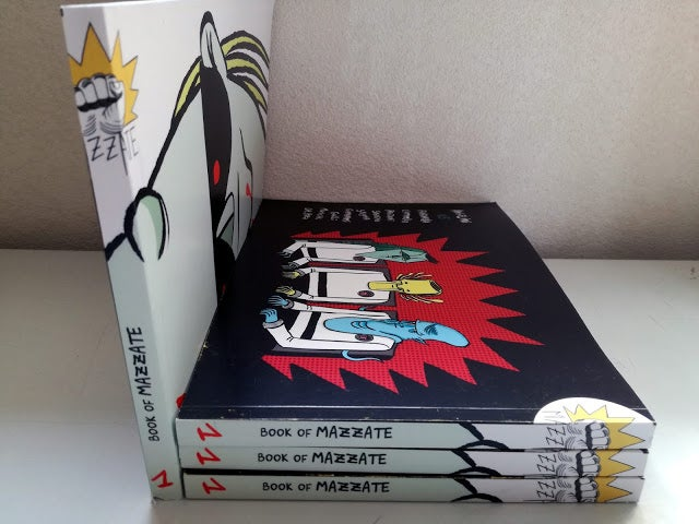 Image of Book of Mazzate vol.1 by Simone Angelini & Co.