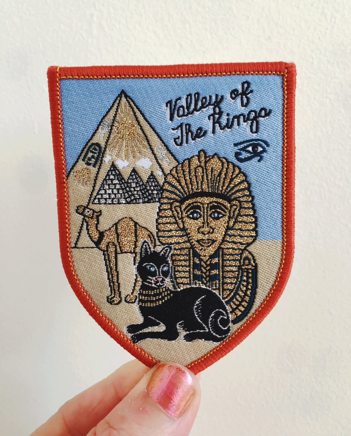 Egypt Valley Of The Kings Iron on Patch