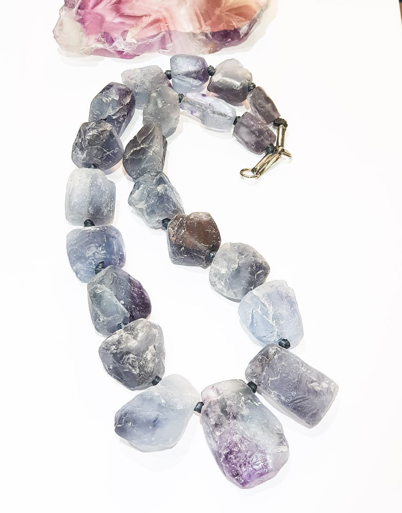 Image of Chunky Fluorite Necklace