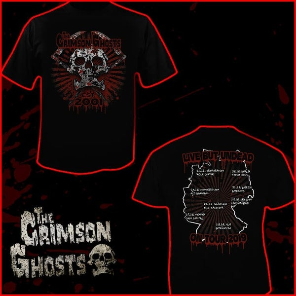 Image of Tour Shirt Oct. 2019 (strictly limited)