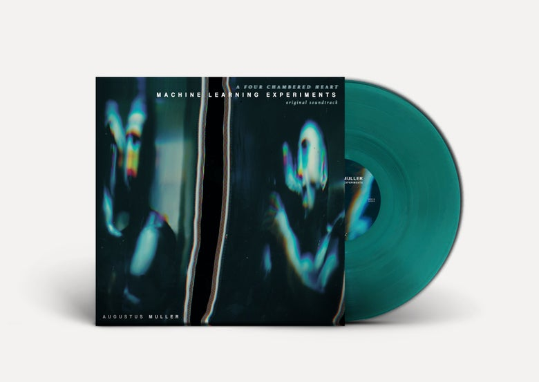 Image of AUGUSTUS MULLER 'Machine Learning Experiments' LP *CLEAR GREEN VINYL*