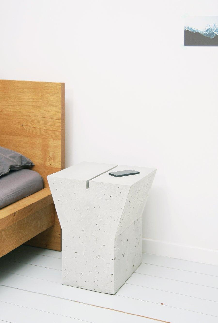 Image of Betonbuchstabe / concrete letter stool
