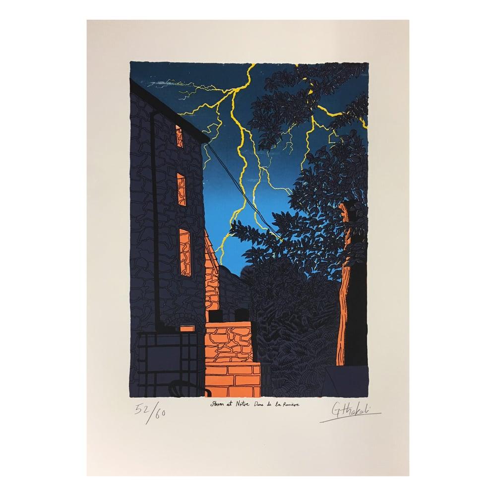 Image of Storm at Notre Dame de la Rouviere