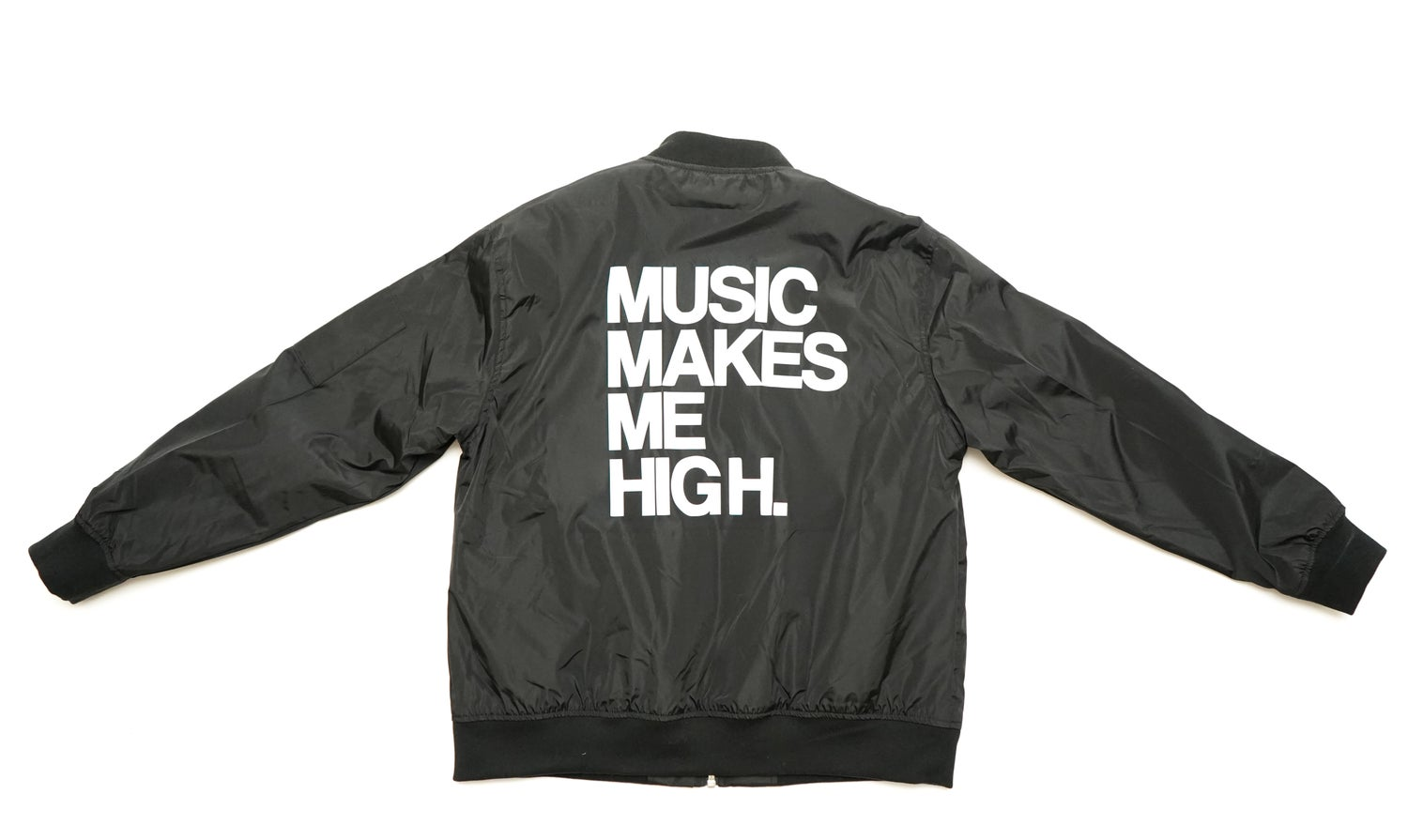 Image of *MMMH Bomber Jacket* Black (unisex)