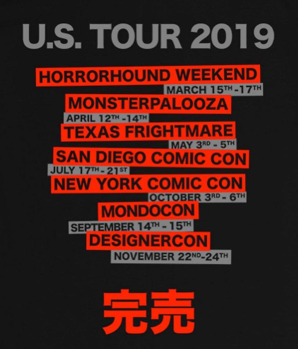 U.S. World Tour Shirt