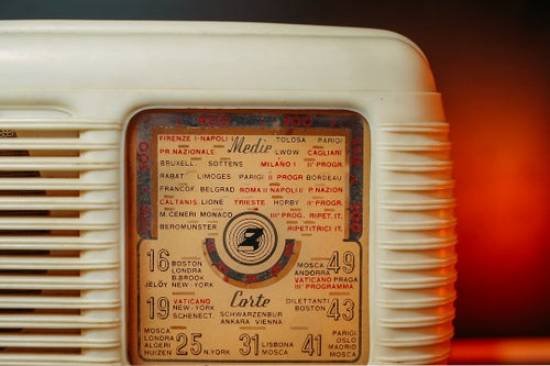 Image of RADIO ZETA (1953) RADIO D'EPOCA BLUETOOTH