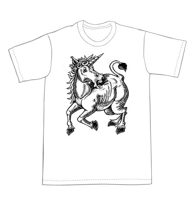 Image of Unicorn T-shirt **FREE SHIPPING**