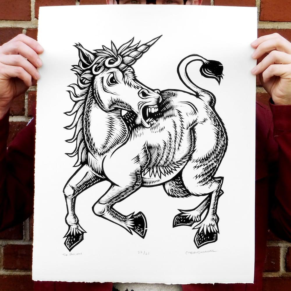 Image of The Unicorn print