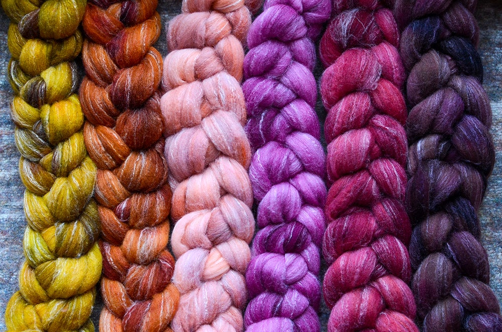 Image of February Fiber Club Coordinate Pack- PRE-ORDER - OPEN TO ALL - 6 oz.