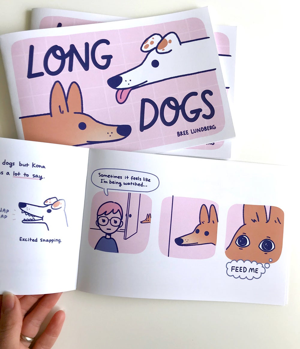 Image of Long Dogs - Zine