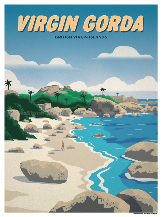 Image of Virgin Gorda Poster