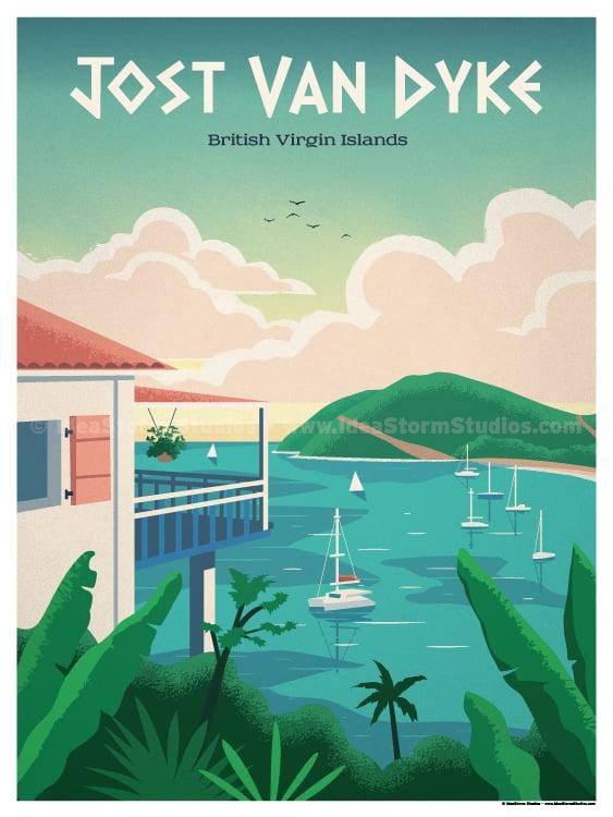 Image of Jost Van Dyke Poster