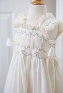 Image 4 of Phoebe Smocked Peasant Dress