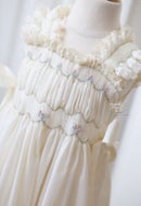 Image 2 of Phoebe Smocked Peasant Dress