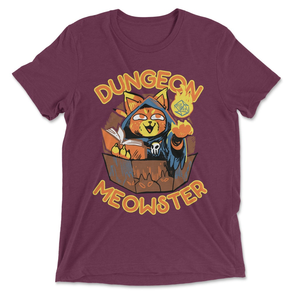 Image of Dungeon Meowster Shirt