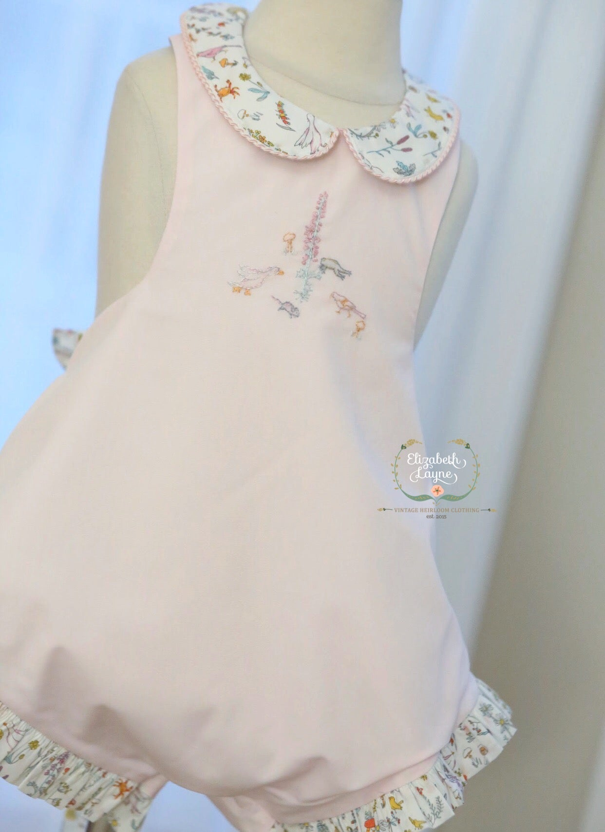 "Image of Liberty of London ""Thea"" Vintage Sunsuit"