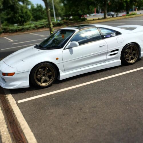 Image of 90-99 MR2 SW20 Border Side Skirts - GROUP BUY