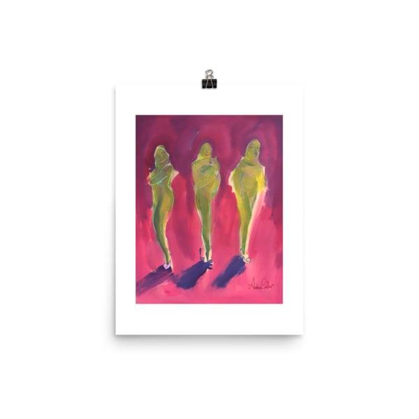 Image of Three Beautiful Creeps with Kitty