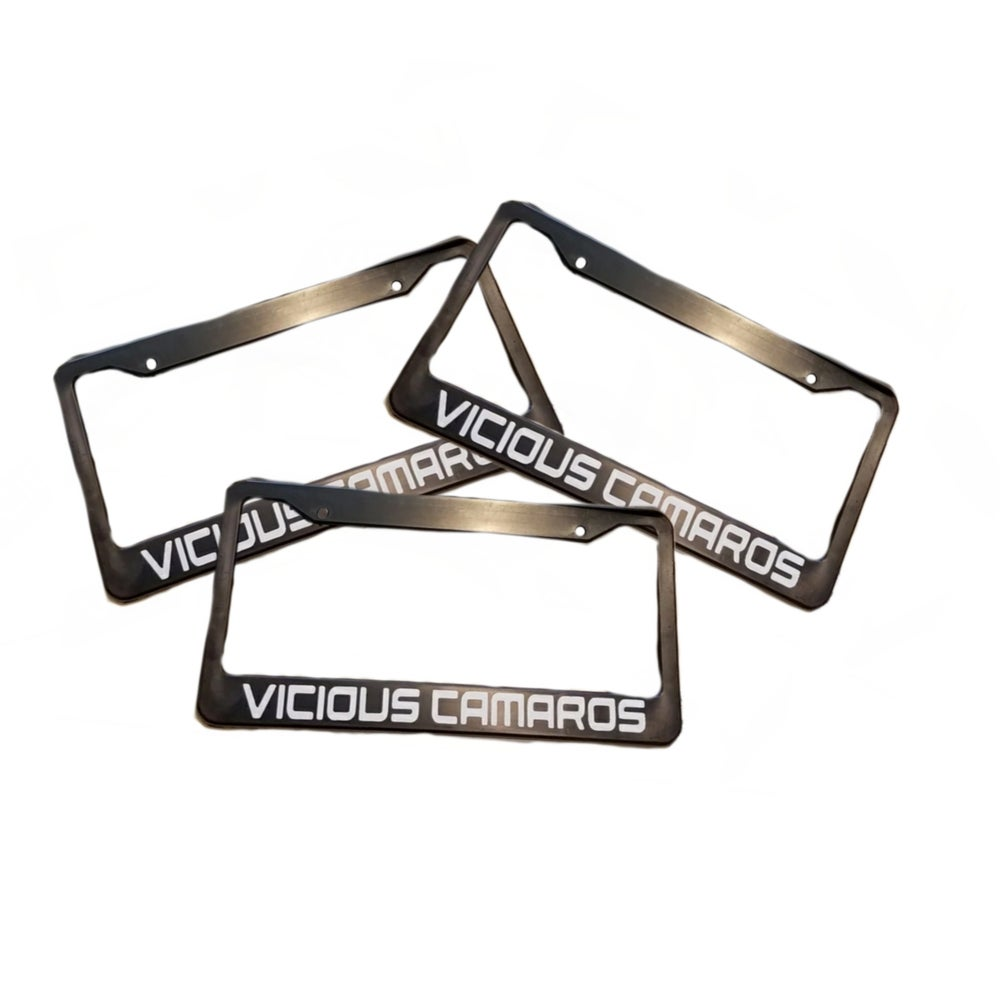 Image of License Plate Frame