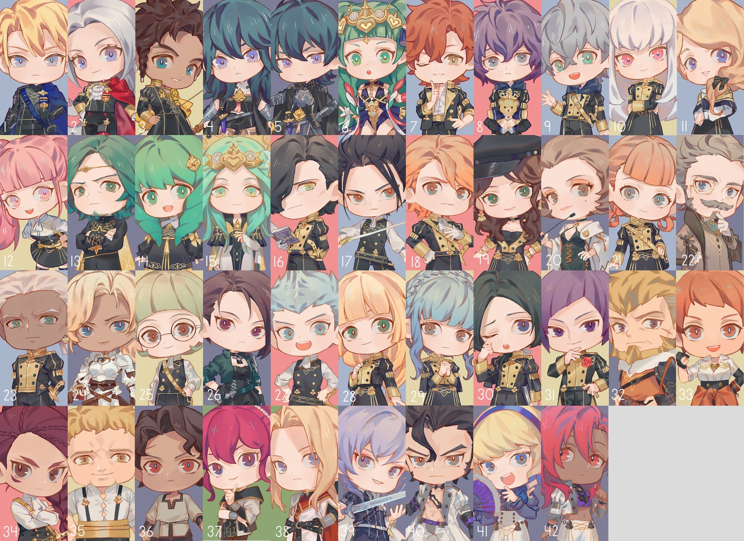 Image of FE3H Acrylic Stand/Charm