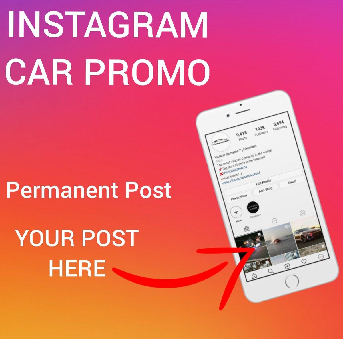 Image of Instagram Car Promotion