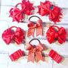 8 Ribbon bow school set