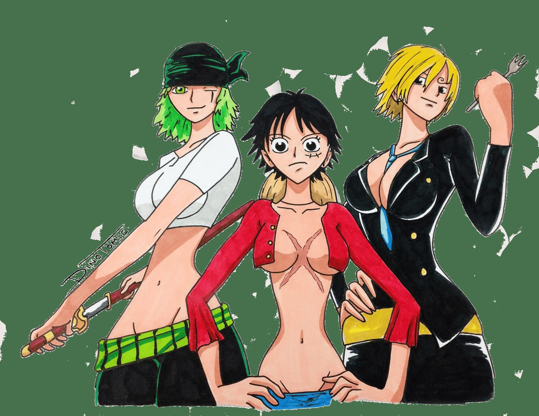 Image of #172 One Piece gender swap