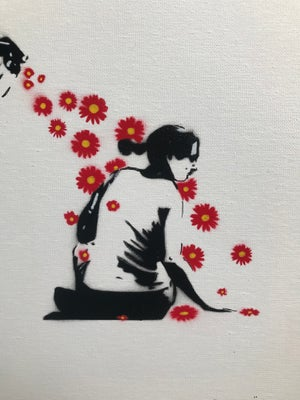 FLOWER POWER (Original version on Canvas)