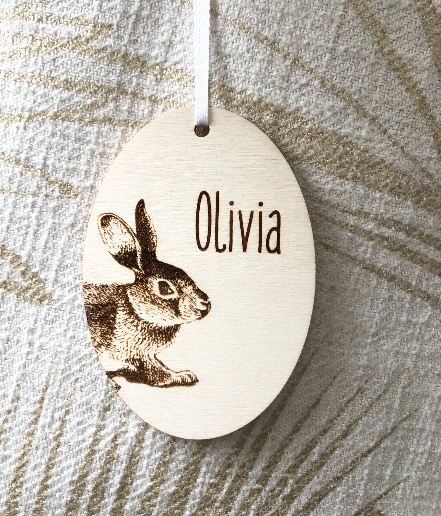 Image of Easter Bunny Tag