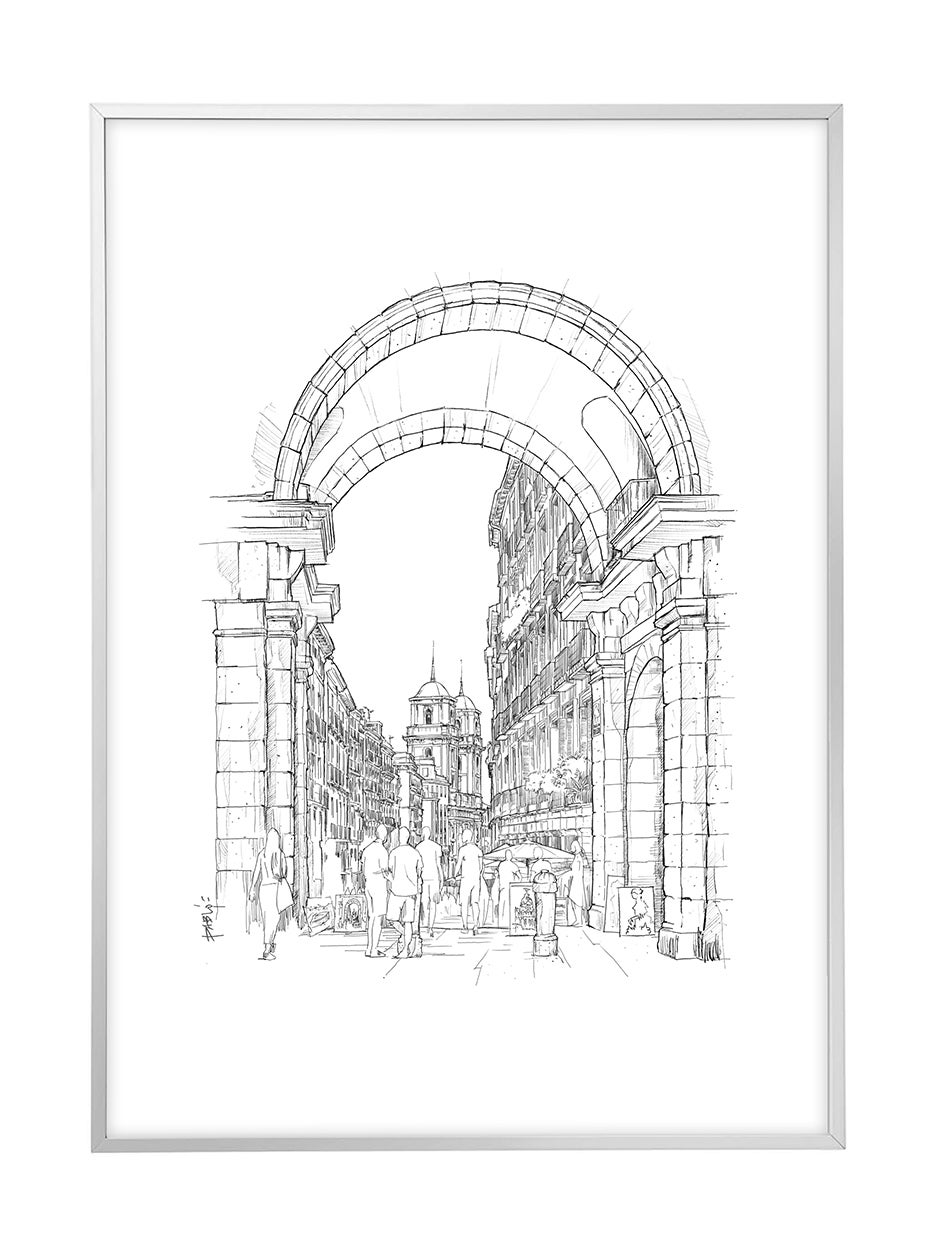 ARCO CALLE TOLEDO, PLAZA MAYOR