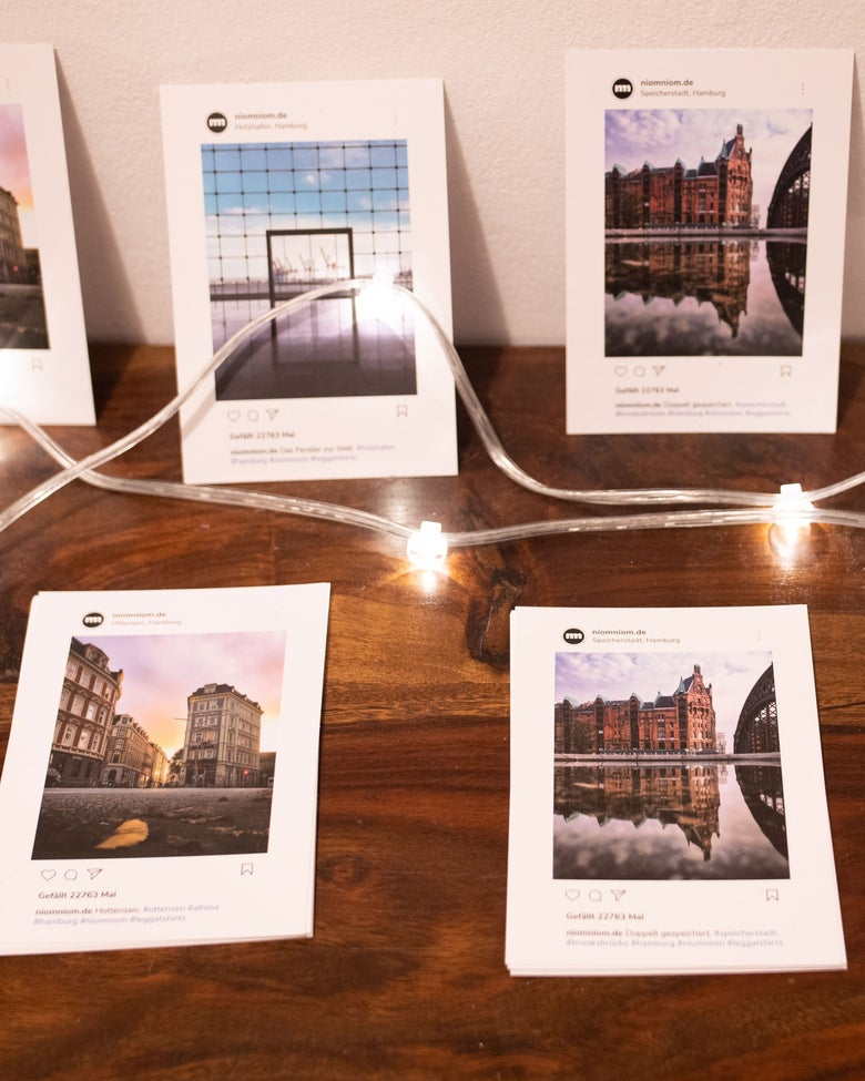 "Image of Postkarten-Set ""niomniom"""