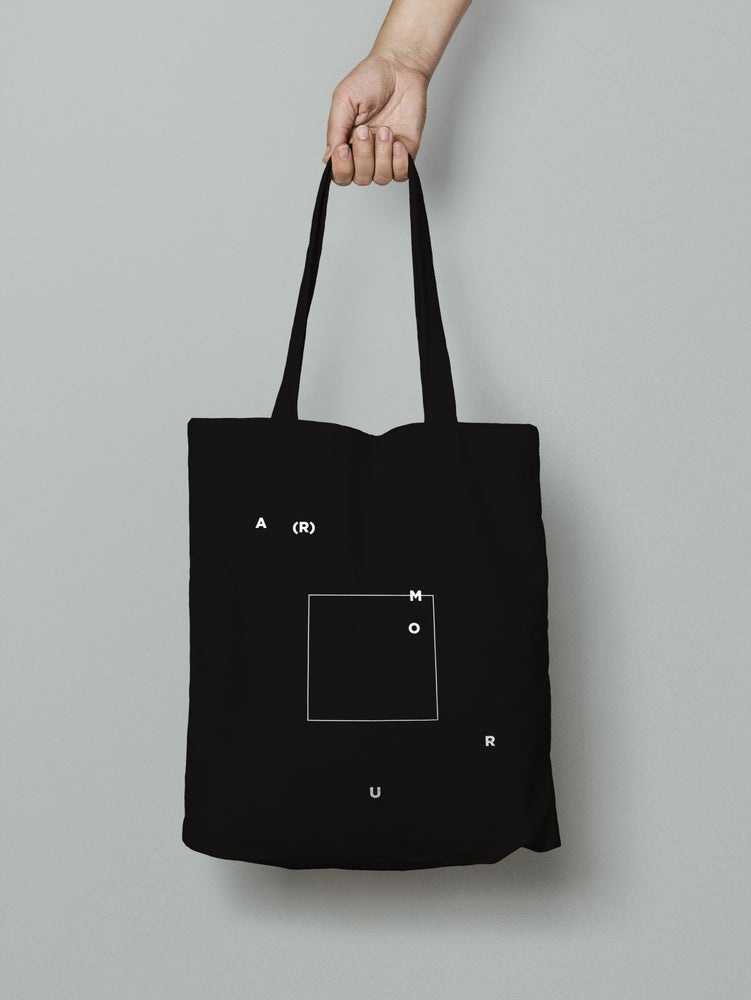 Image of Tote bag A(r)mour black