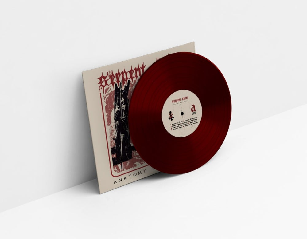 "Image of SERPENT COBRA ""ANATOMY OF ABUSES"" RED VINYL EDITION"