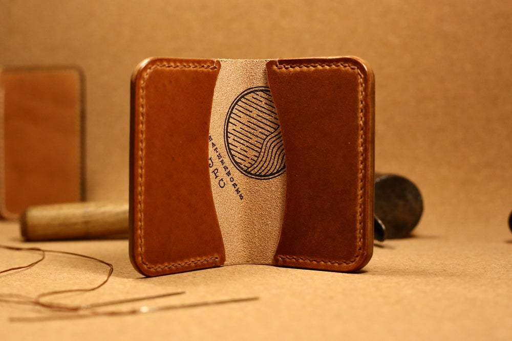 Image of Aphis - Three Pocket Card holder in Horween Dublin