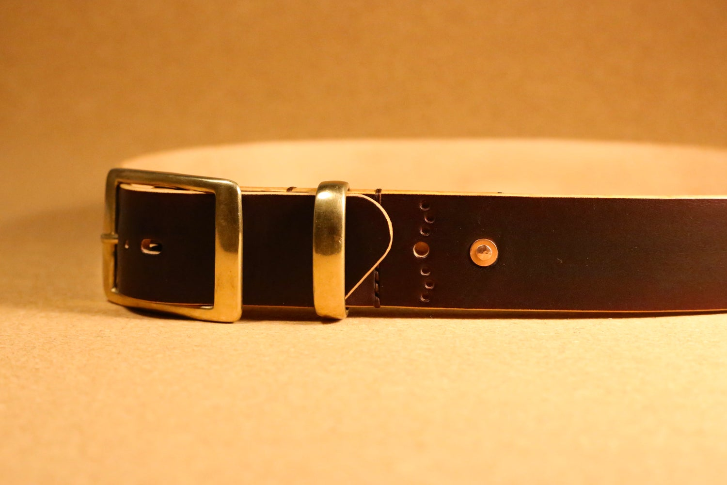 Image of Belmont - Premium Fitted Handmade Leather Belt