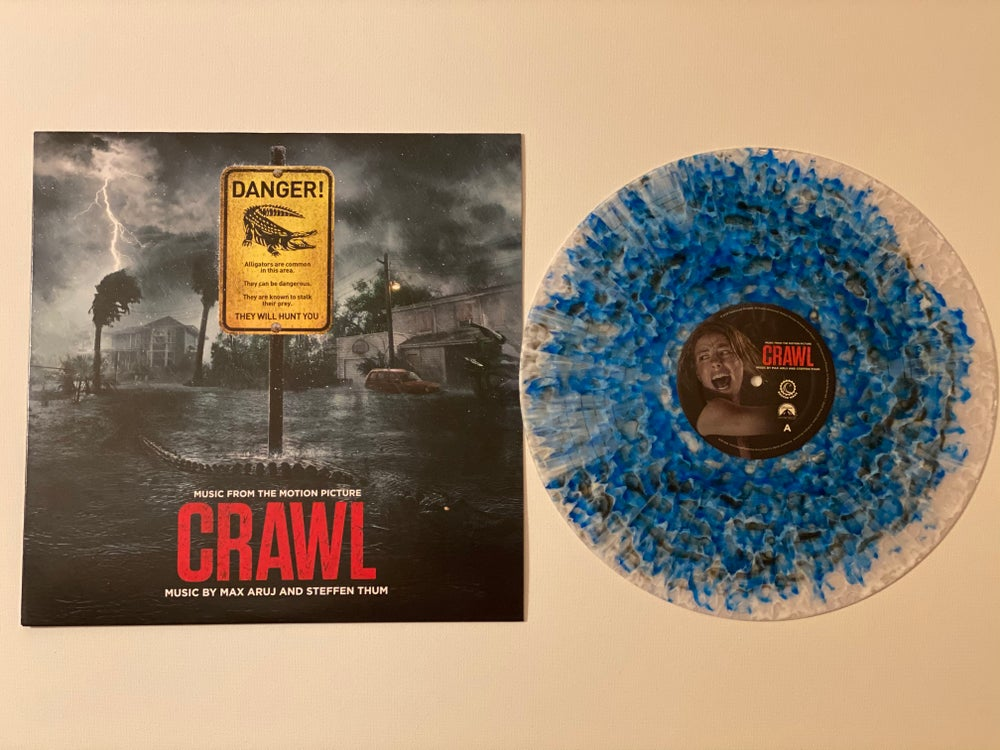 Image of (WAX MAGE) Crawl - Music from the Motion Picture (LP) (Apex Predator Variant)