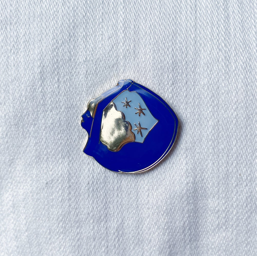 Image of Yoga Girl Pin