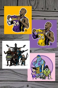 Image of 7x7 Art Prints (assorted)