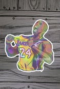 Image of KB24 (yellow jersey) Holo-sticker