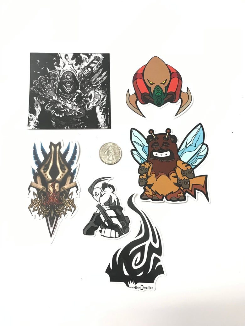 Image of valleyDweller stickers