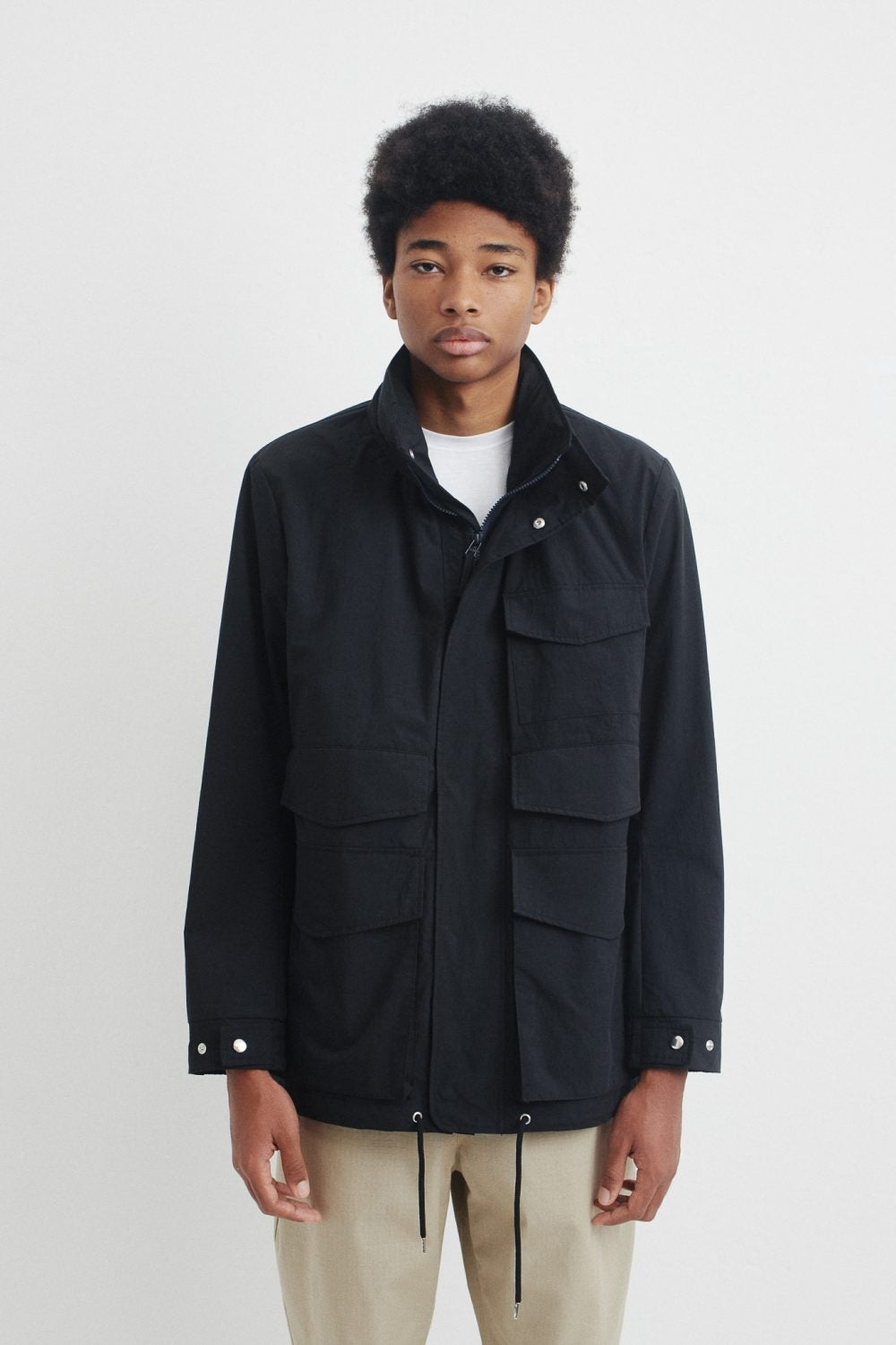Image of A KIND OF GUISE BUSUA JACKET DARK BLUE