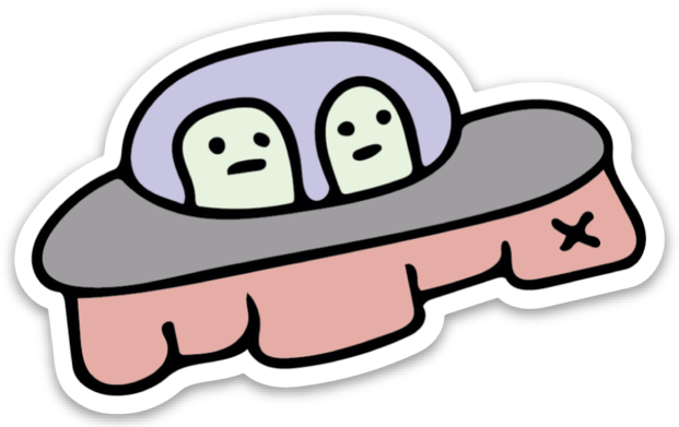 Image of Spaceship Magnet