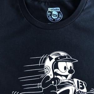 Image of Sideburn Womens KR750 Cat T-shirt