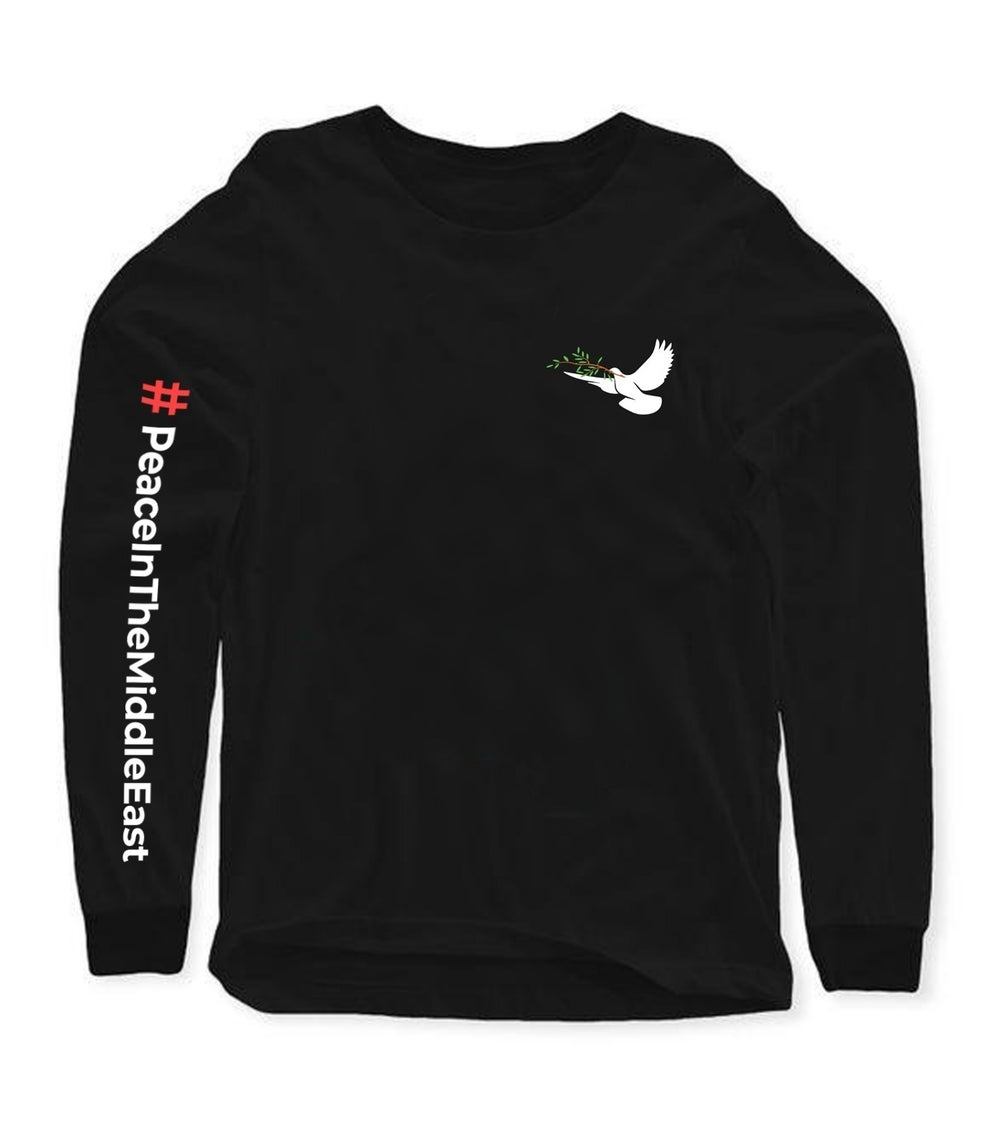 """Image of """"Peace In The Middle East"""" Long Sleeve"""