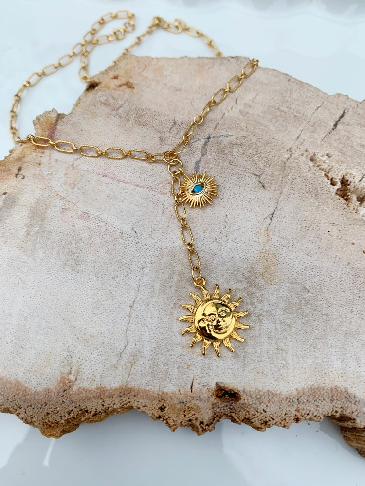 Image of Sunshine Charm Necklace