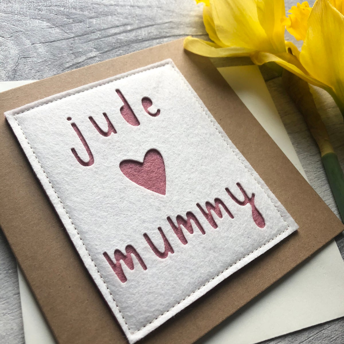 Image of Personalised Birthday Card