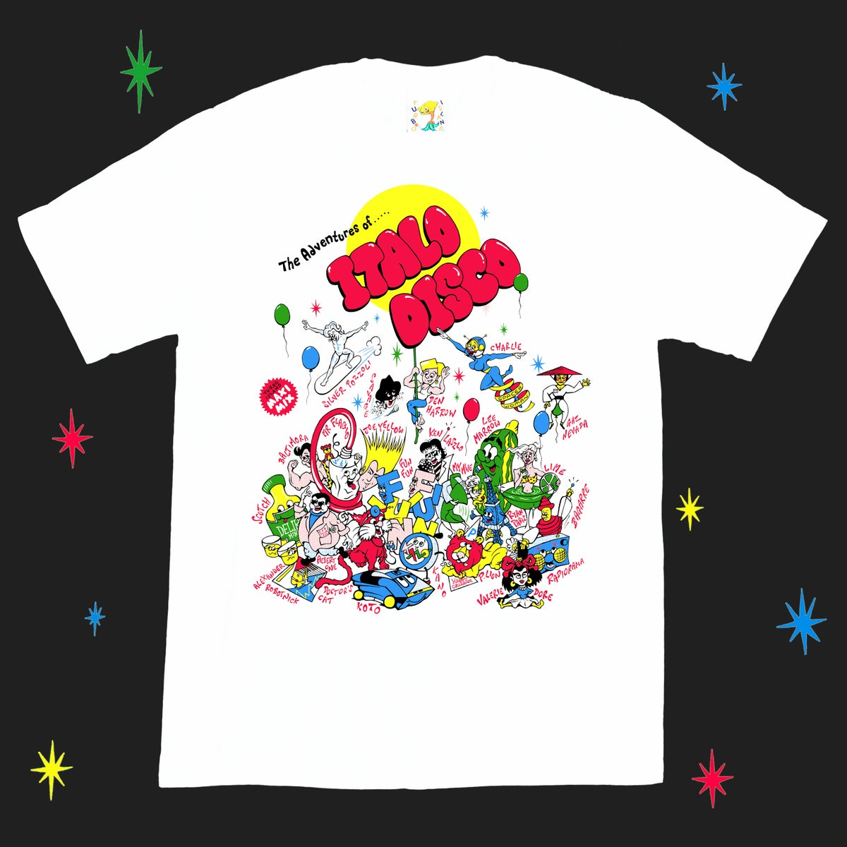 Image of ITALO DISCO tee
