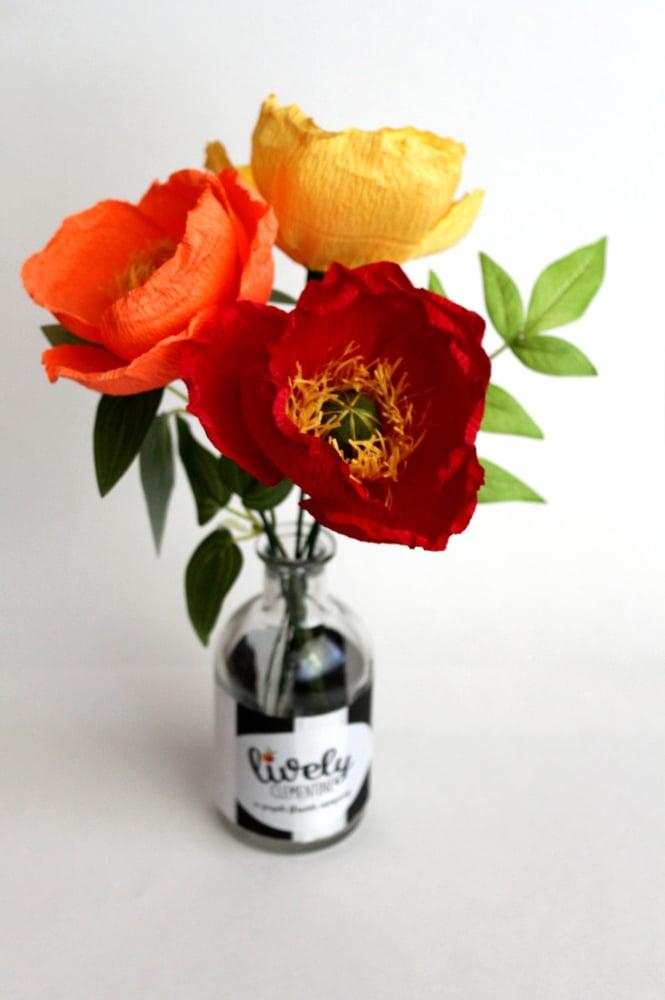Image of Paper Flower DIY Kit