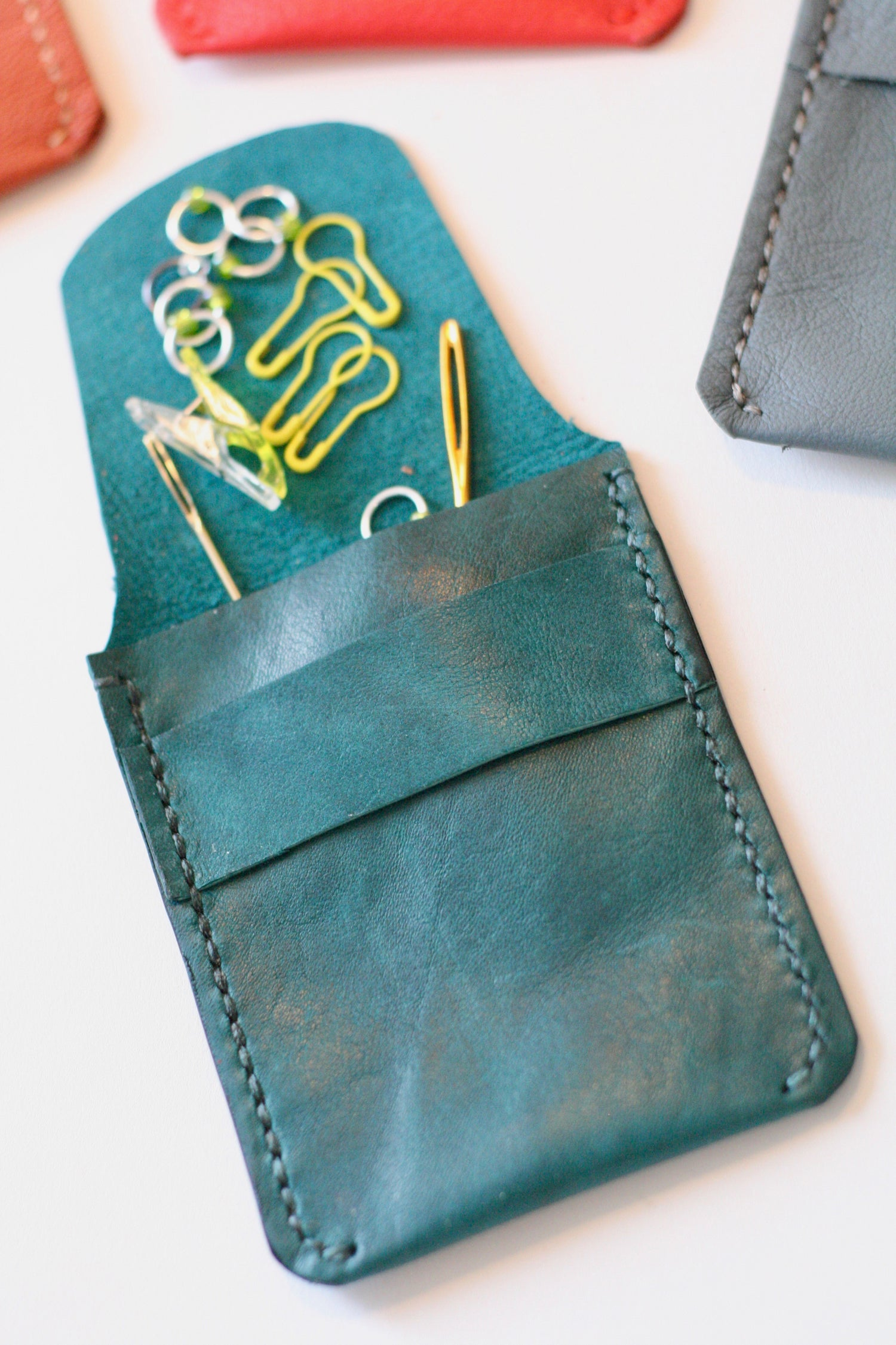 Image of Leather Pocket Pouch