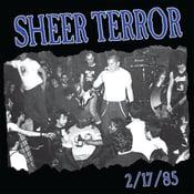 "Image of SHEER TERROR ""2/17/85"" 7"" Vinyl EP"